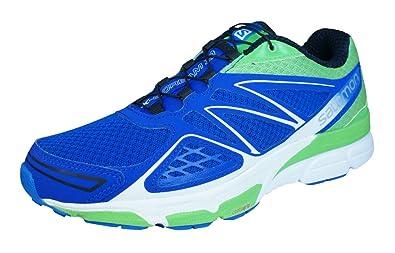 Herren L39027600 Traillaufschuhe, Blau (Blue Yonder/Tonic Green/White), 48 EU Salomon