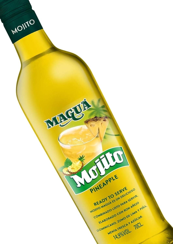 Maguá Mojito Piña, 6 botellas x 700 ml: Amazon.es ...