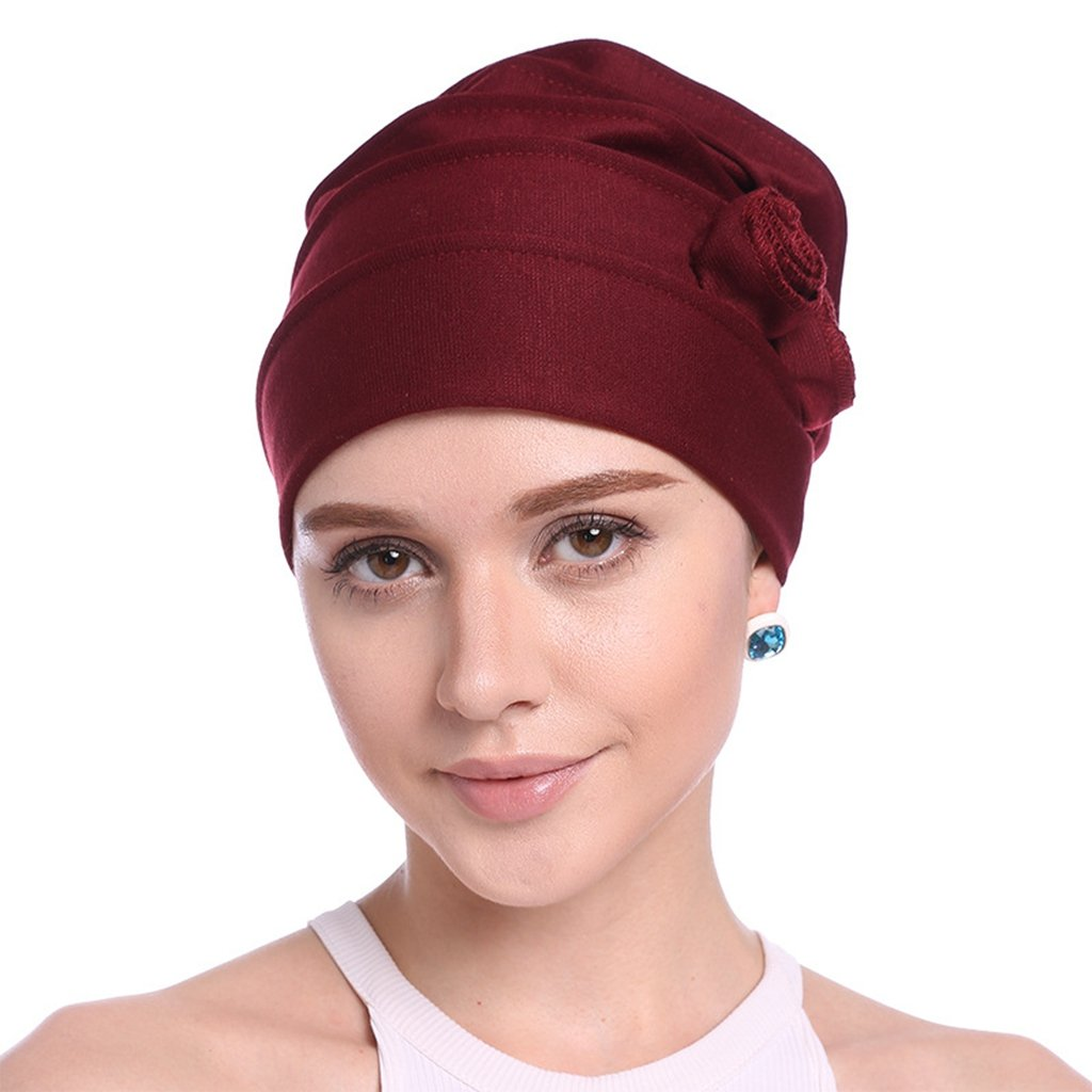 Women's Knit Chemo Hat Beanie Scarf, Turban Headwear for Cancer Patients Yiwu Zhutong E-Commerce CO. Ltd