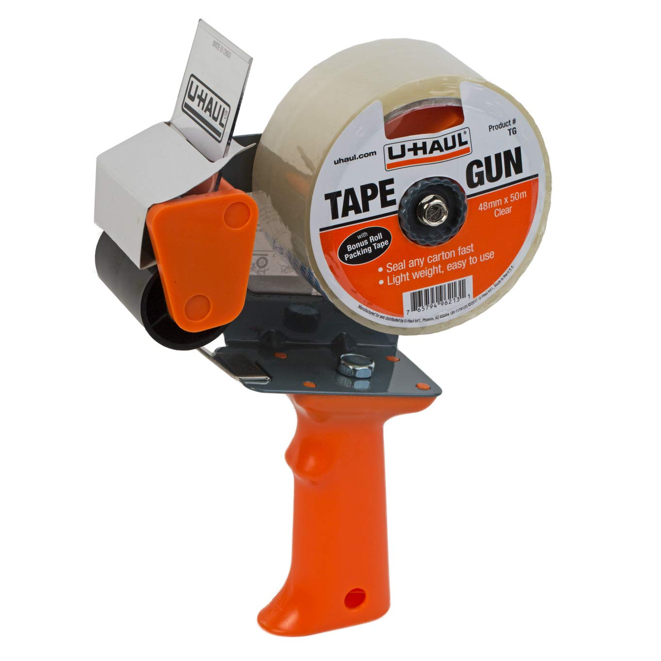 U-Haul Tape Gun Dispenser - 55 Yards of Moving/Packaging Tape Included