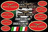 Moto Guzzi Decals Stickers Motorcycle Vinyl Graphic Set