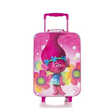 0023b4ca1e Amazon.com  Heys Trolls Classic Designed Kids Basic Soft Side Luggage 17  Inch  Toys   Games