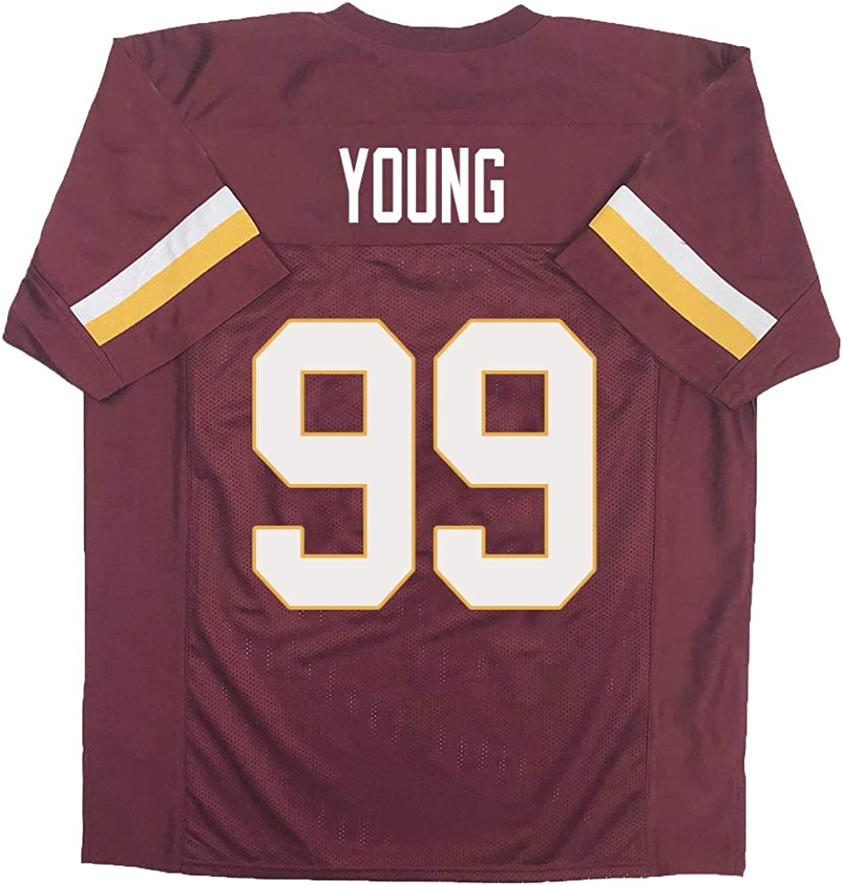 Chase/_Young Jersey #99/American/Football/Jerseys/for/Womens//Youth/Christmas/Mothers/Day/Birthday/Gift