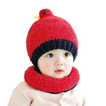 ddfb33eca98e26 ベビー ニット帽 赤ちゃん防寒グローブ 手編み ネックウォーマー 秋冬 帽子 編み物 裏起毛 暖かい やわらかい