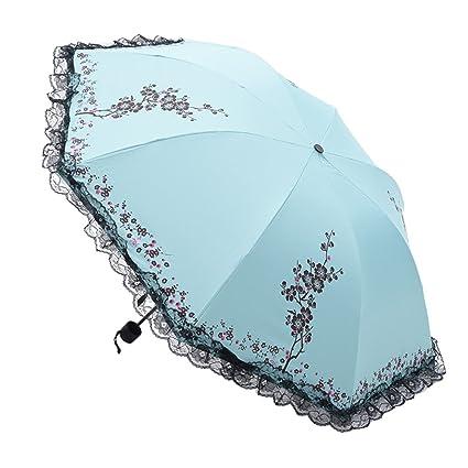 Amazon.com : AODEW Folding Travel Sun Umbrella Sunblock UV Protection Rain Resistant Windproof : Sports & Outdoors