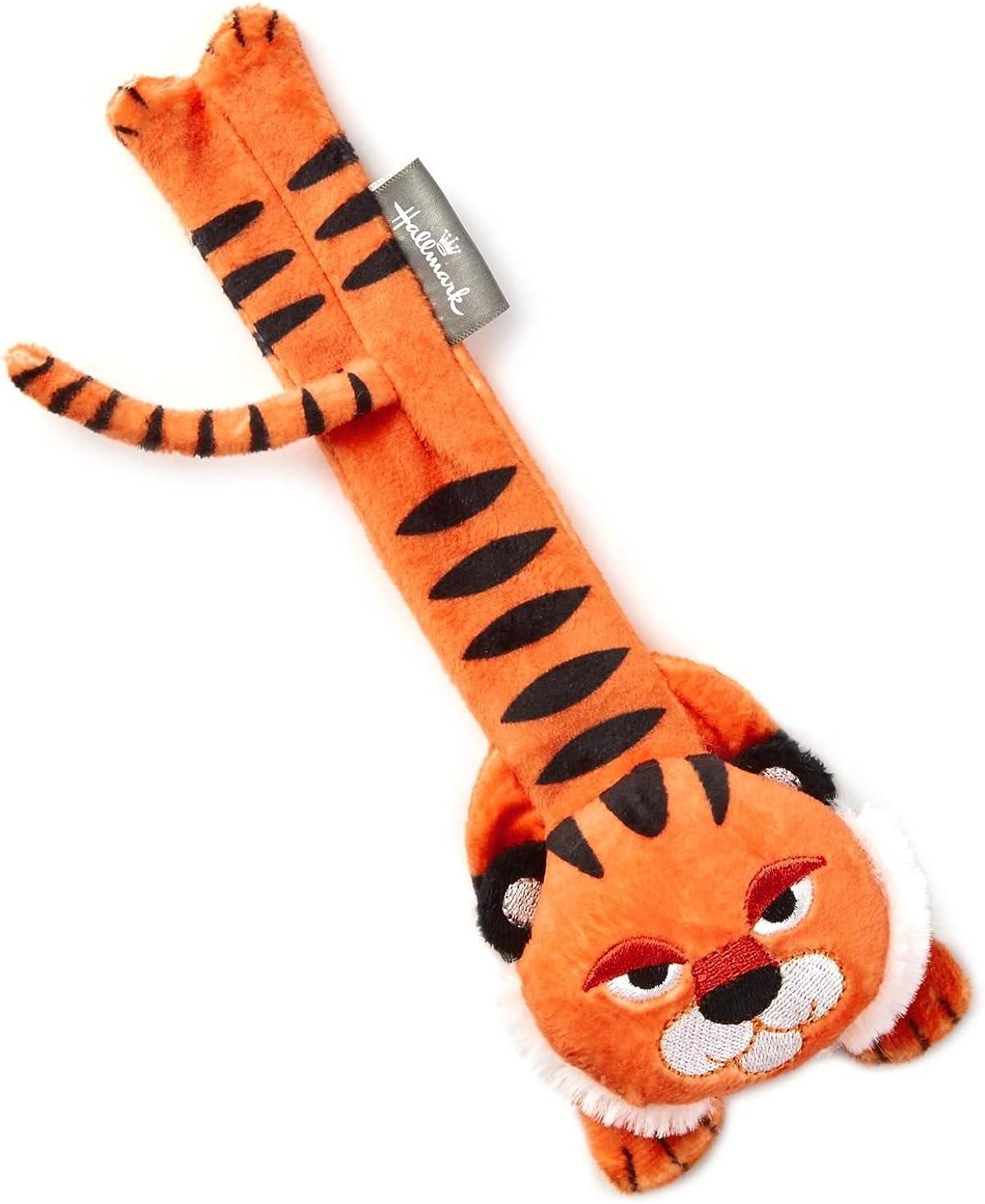 Best Stuffed Animals For Boy, Amazon Com Hallmark Snappums Theo Tiger Stuffed Animal Slap Bracelet Plush Toys Clothing