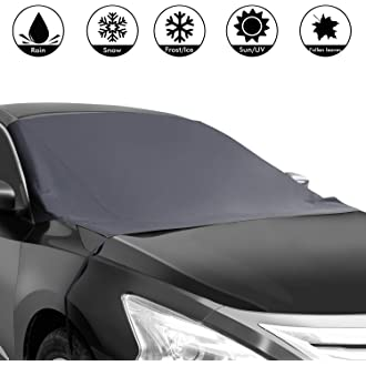 3d855993 #10 Shynerk Magnetic Edges Car Snow Cover, Frost Car Windshield Snow Cover, Frost  Guard Protector
