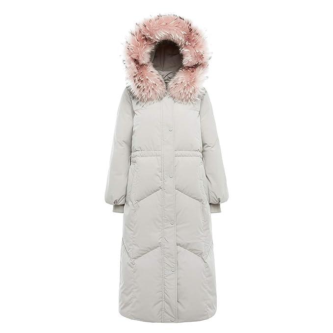 Amazon.com: BOSIDENG - Chaqueta de invierno para mujer, con ...