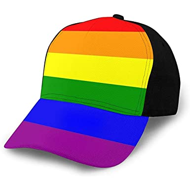 W-FLY Gorra de béisbol de Camionero de Malla Ajustable The Gay ...