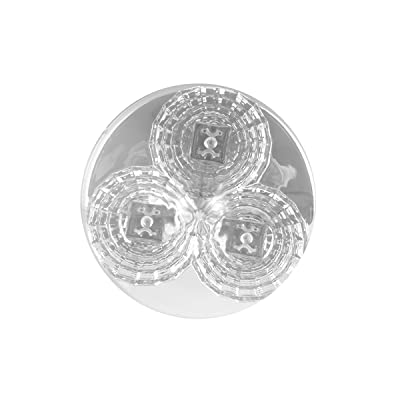 Grand General 77720 Co 2.5 Inch Spyder 3 LED Light Only, Amber Lens: Automotive
