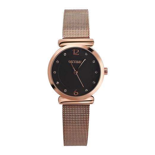 Relojes de Mujer 2018 Pulsera de Cuarzo de Aleación Analógica Banda de Correa de Diseño Retro de Moda por ESAILQ: Amazon.es: Relojes