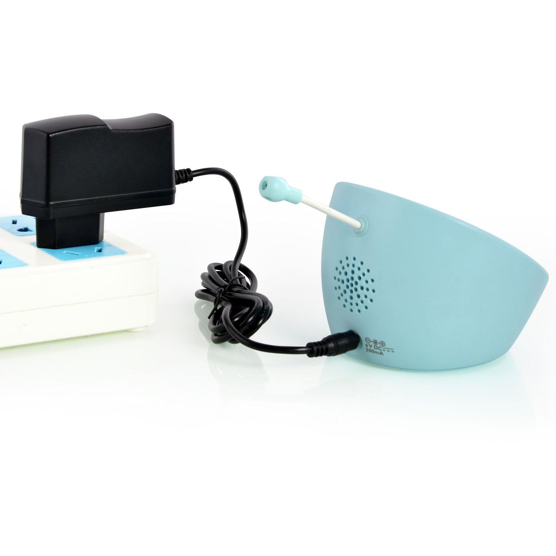 Wei/ß Aukru 6V Netzteil Ladeger/ät Babyphone Adapter f/ür Philips Babyfon Babyphone Avent SCD560 Baby-Einheit Baby-Unit