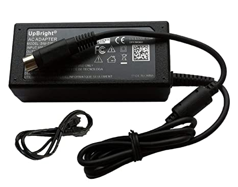 UpBright 4-Pin 12V AC/DC Adapter Replacement For DW Digital Watchdog  DW-VF16 DWVF16 Vmax Flex DVR DW-VF161T Flex 16 Channel DWVF161T Watch Dog  Digital