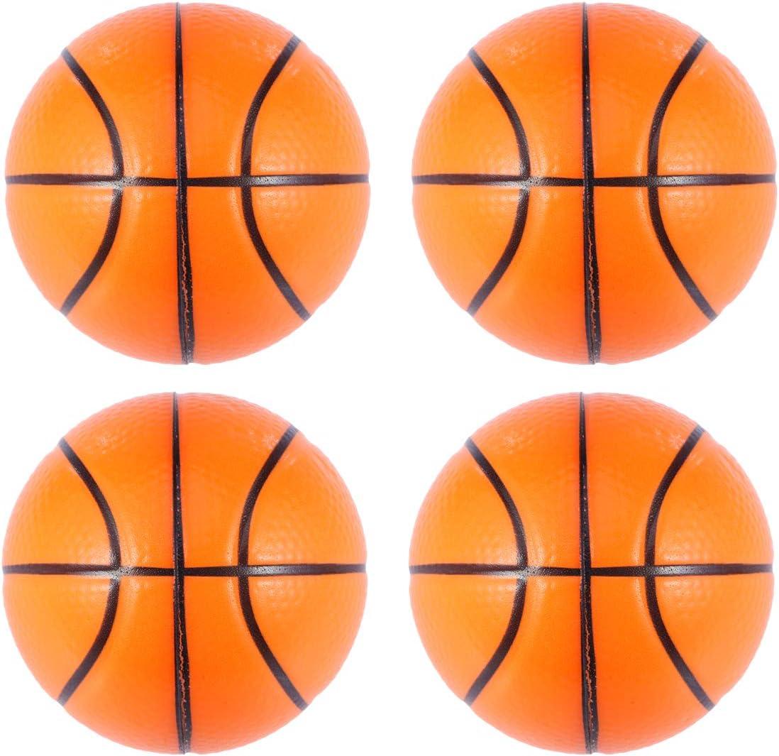 Amosfun 8 Unids Pelota de Baloncesto Mini Deporte Suave Pelotas ...