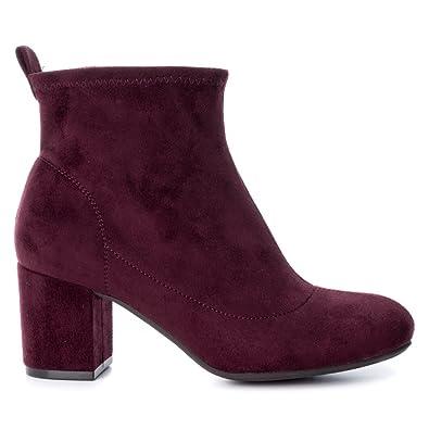 Xti 47520 Noir - Chaussures Bottine Femme