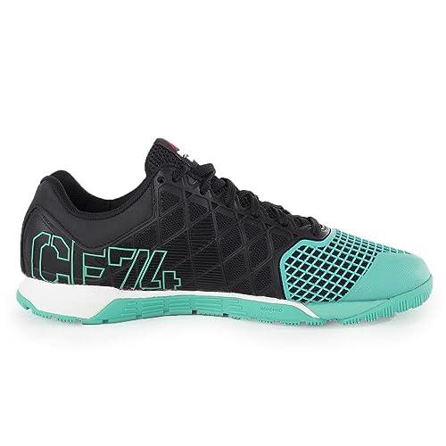 Reebok - R Crossfit Nano 40 - M41332 - Color: Azul-Blanco-Negro - Size: 48.5: Amazon.es: Zapatos y complementos