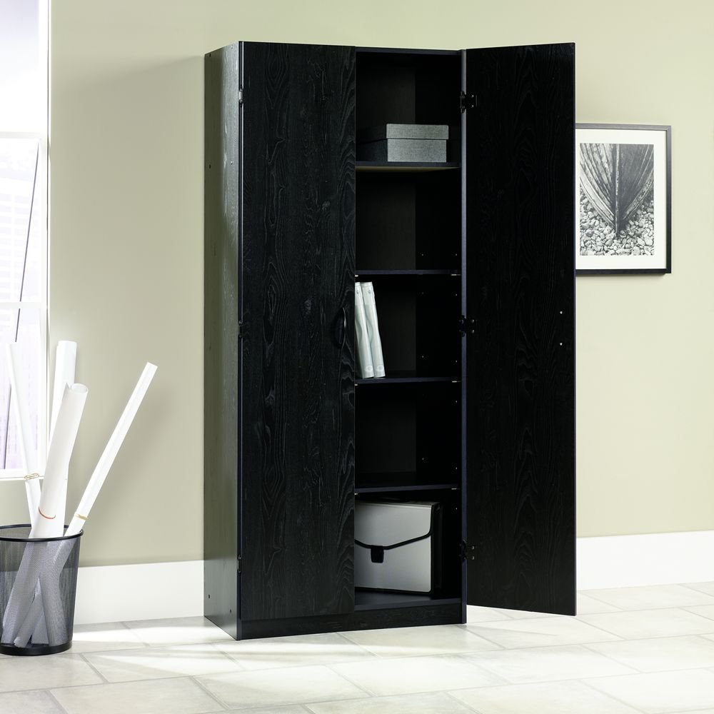 kitchen home pantry cabinets designs cabinet black