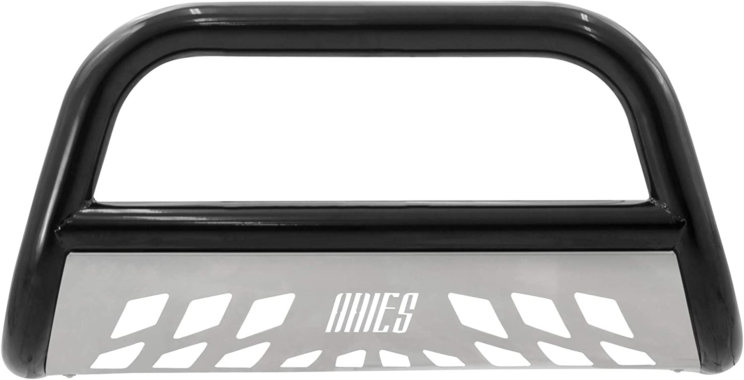F-350 Super Duty Select Ford F-250 ARIES B35-3006-3 Stealth 3-Inch Black Stainless Steel Bull Bar