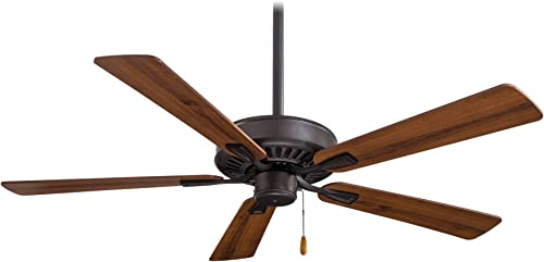 Minka-Aire F556-ORB Contractor Plus 52 Inch Pull Chain Ceiling Fan