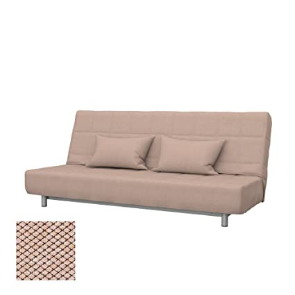 Soferia - Replacement Cover for IKEA BEDDINGE 3-seat Sofa-Bed, Nordic Beige
