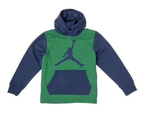 aa695346eb38 Amazon.com  Jordan Big Boys (8-20) Nike Jumpman Pullover Hoodie ...