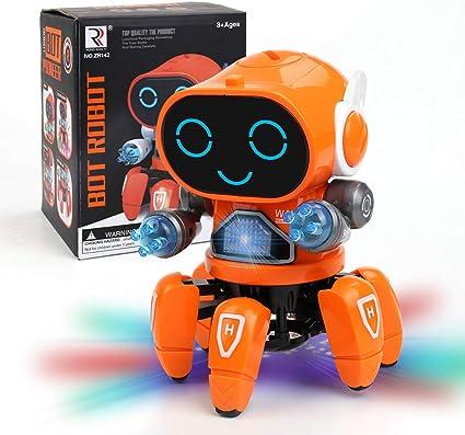 Lovely Robot Dancing Walking Fun Sound Toys For Kids Toy Chirstmas Xmas TOY