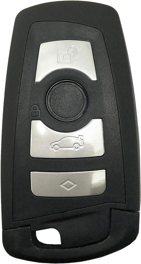 New Remote Control Key Fob Cover No Chip for BMW 1 3 5 Series 320li 525li X3 X4 X5 X6 Replacement Key Case