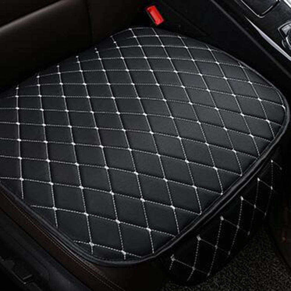 Sue-Supply Universal Autositzbezug Leder Vorne Hinten Sitzbezug Auto Kunstleder Strapazierf/ähiges Und Atmungsaktives Sitzkissen