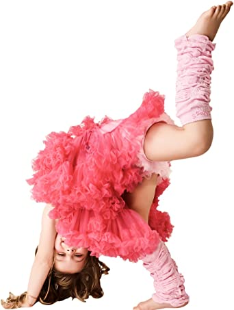 Huggalugs Vintage Leg Ruffles Legwarmers Leggings Lace Girls Women Dance