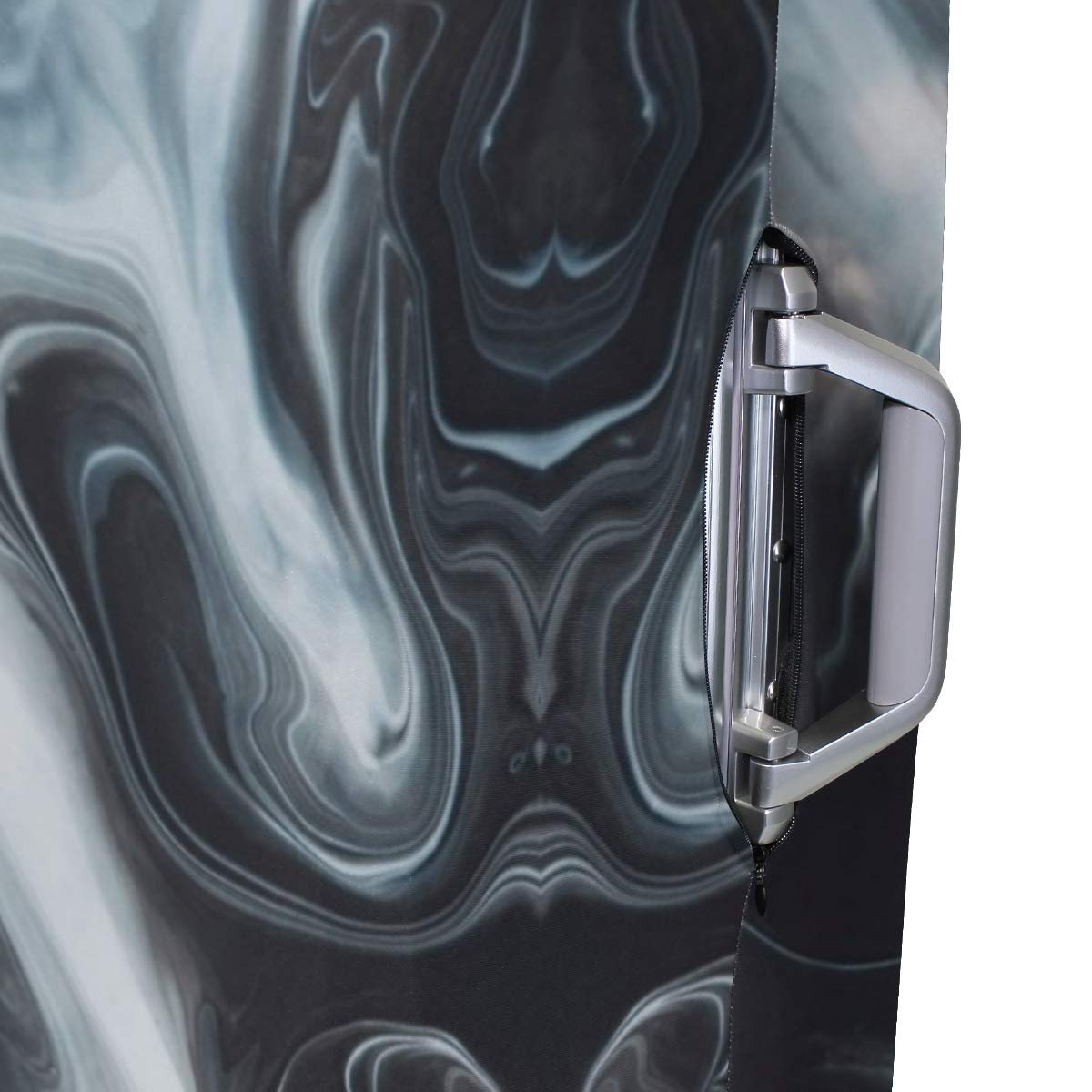 Smoking Marble Traveler Lightweight Rotating Luggage Cover Can Carry With You Can Expand Travel Bag Trolley Rolling Luggage Cover