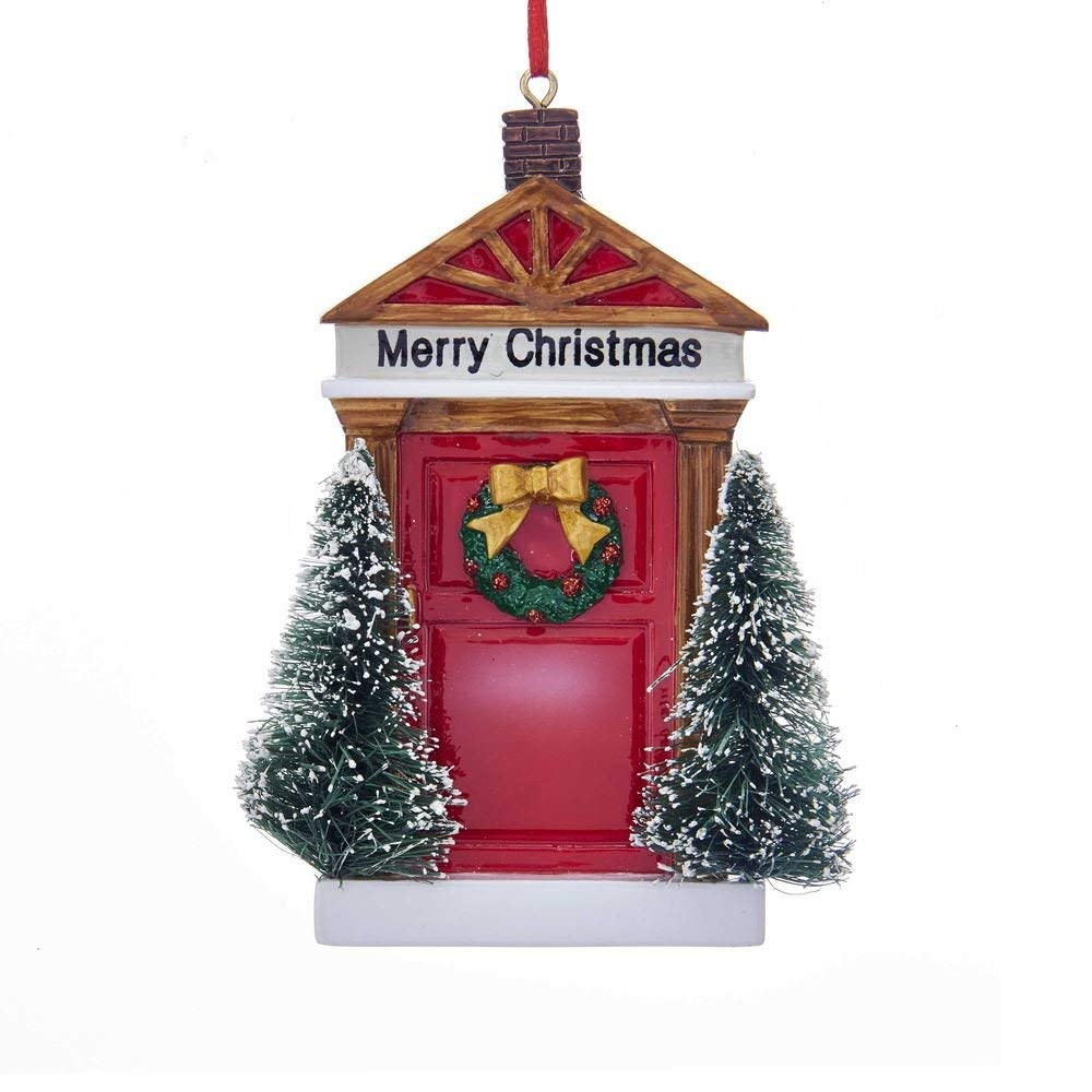 Kurt Adler Merry Christmas Door Ornament