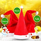 Accessories Fast Deliver Magic Singing Dancing Talking Santa Hat For Adults Kids Christmas Toys Party Toy Mother & Kids