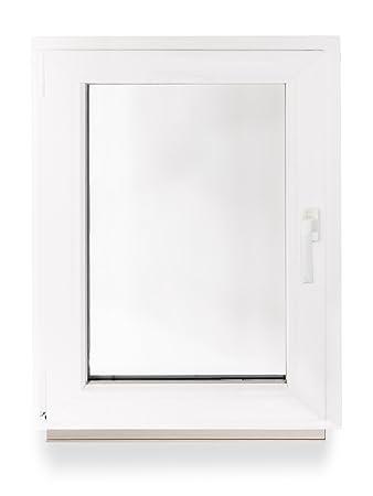 Halbrundbogenfenster Bogenfenster Kunststofffenster Fenster Dachfenster BxH: 700 x 350 mm Klarglas 2-Fach Verglasung Farbe: innen anthrazit//au/ßen anthrazit
