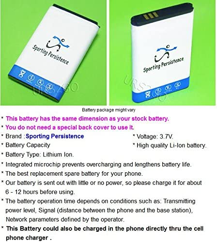 New 1600mAh Rechargeable Spare Standard Battery for Samsung Rugby 4 SM-B780A Sporting Persistence