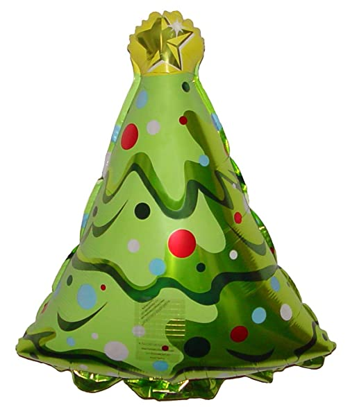 18 christmas tree balloon holographic amazing new hovering anti gravity toy