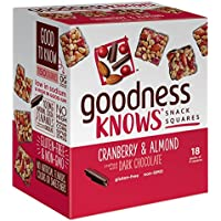 18-Ct GoodnessKnows Dark Chocolate Snack Squares Bars
