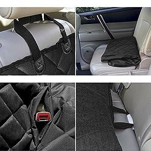Seat Hammock Cover Pet Dog Car Waterproof Back Cat Protector Rear Suv Mat Van Blanket Bench Travel Truck Luxury Cushion