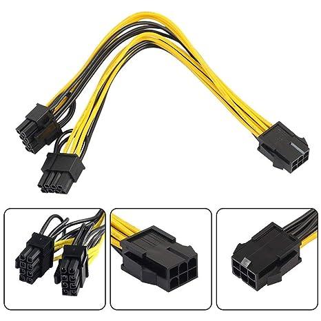 Cable de Alimentación para CPU de 8 Pines a Tarjeta Gráfica ...