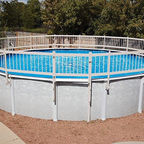 Swimming Pool Fence Kit (Protect-A-Pool Fence - Tan, Fence Kit A Base Kit (8 sections))