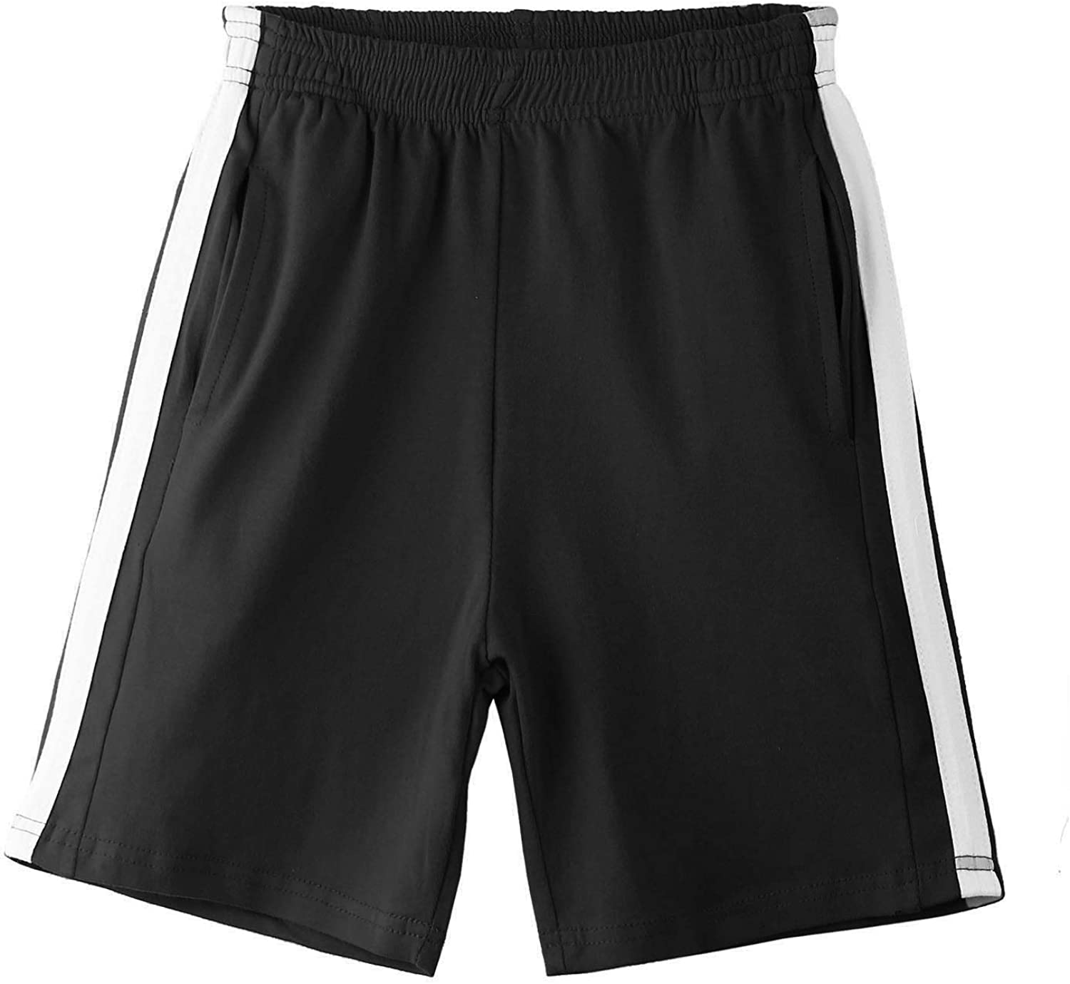 Arshiner Boys Active Shorts Sports Athletic Gym Summer Shorts for 5-12 Years