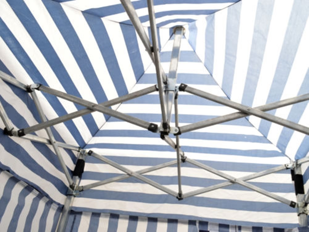 Tent Changing Room Camping Cabana Outdoor Pop Up Canopy Portable Blue Stripe by PTY-Shop-ForU (Image #4)