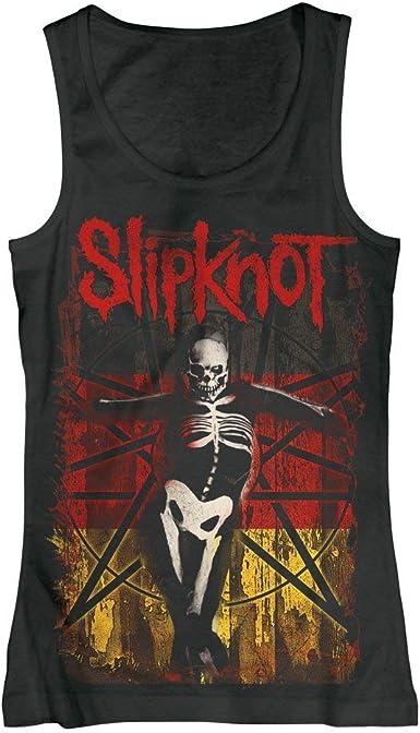Slipknot - Alemán Gótico - Camiseta Tirantes Oficial Mujer ...