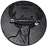 #4: Old Mountain Preseasoned Cast Iron Grill Press (Buck)