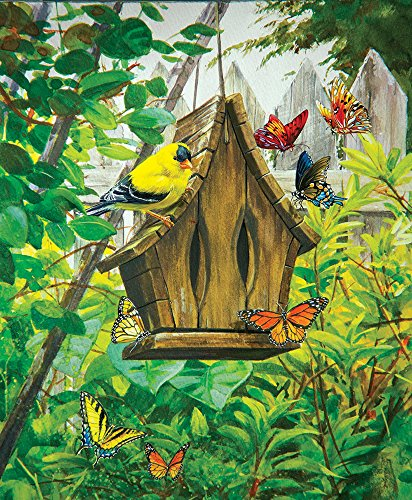 Sunsout 60720 Buck The Butterfly House Puzzle 1000 Pezzi