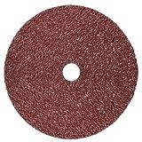 3M Fibre Disc 988C, Ceramic Grain, 5'' Diameter, 24 Grit, Brown  (Pack of 100)