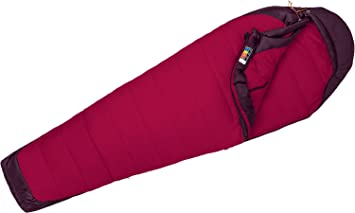 Marmot WM s Trestles Elite 20 Saco de Dormir, Color Madder Red/Dark