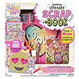 The Just My Style Ultimate Designer Scrapbook Kit is a perfect way for kids to store important memories in a scrapbook that they design. This scrapbook kit is packed with all of the stylin' decorations and materials that they will need to create a 40...