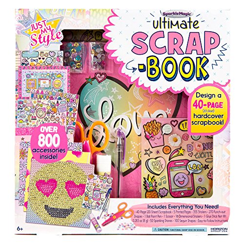 te Scrapbook by Horizon Group USA (Artistic Stickers)
