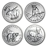 2011 CA - 2013 Canada 1 oz Silver Wildlife Series (Random Year) 1 OZ Brilliant Uncirculated