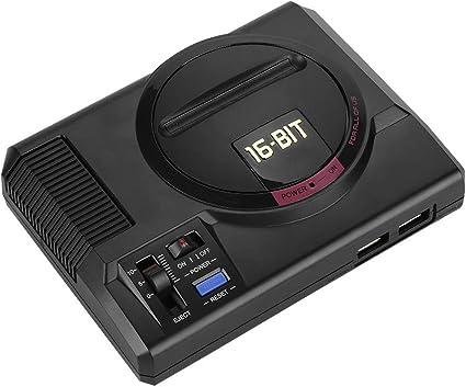 Topiky Caja de Videojuegos de 16 bits, Consola de Videojuegos ergonómica para MD MEGAPI Case Raspberry Pi: Amazon.es: Electrónica